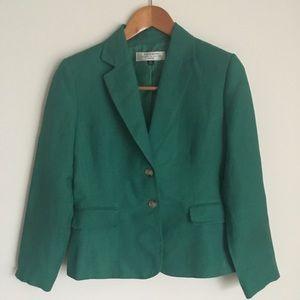TAHARI beautiful green Jacket